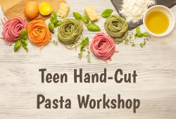 The image for Teen Hand-cut Pasta Workshop (Ages 12-17)