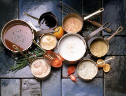 The image for Saucing (Master Sauces)
