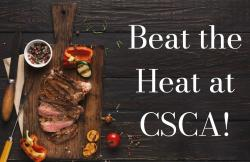 The image for Beat the Heat at CSCA!